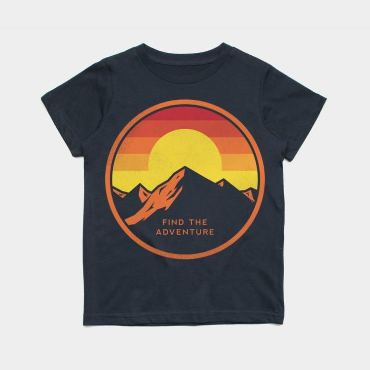 Shop Good Find the Adventure Kids Tee