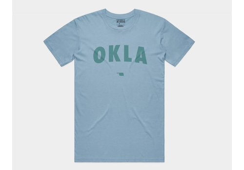 Shop Good OKLA Tee Sky Blue
