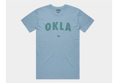 Shop Good OKLA Tee Sky Blue
