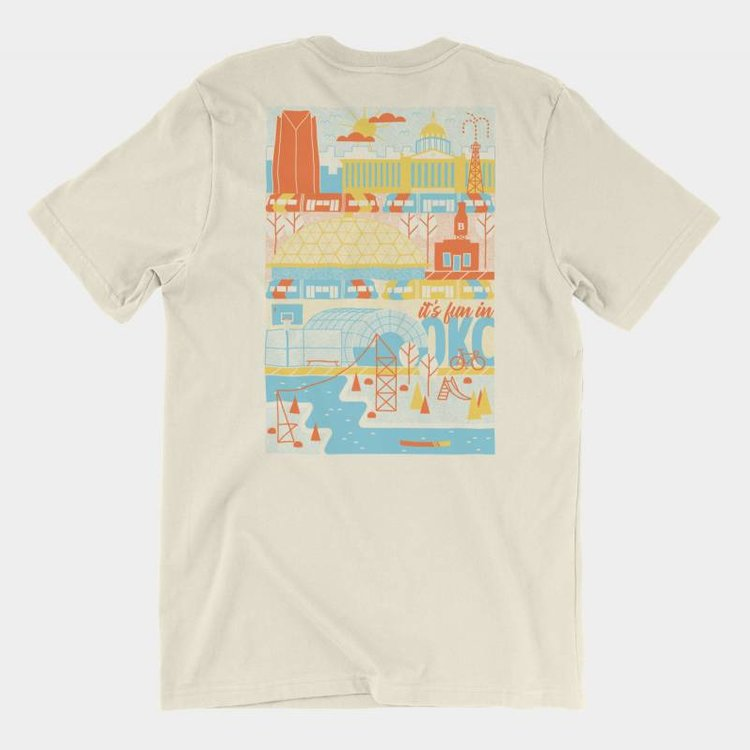 Shop Good It's Fun In OKC Tee