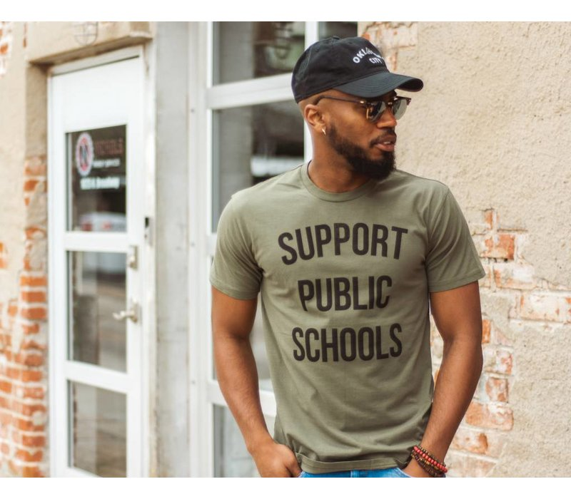 Support Public Schools Tee Army