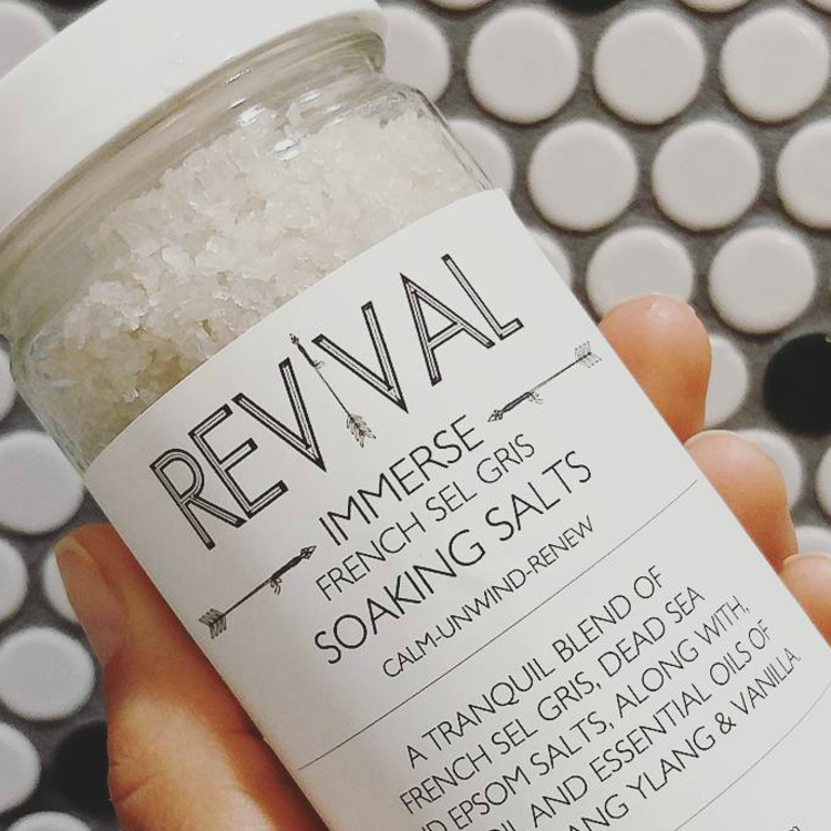 Revival Body Care French Sel Gris Soaking Salts