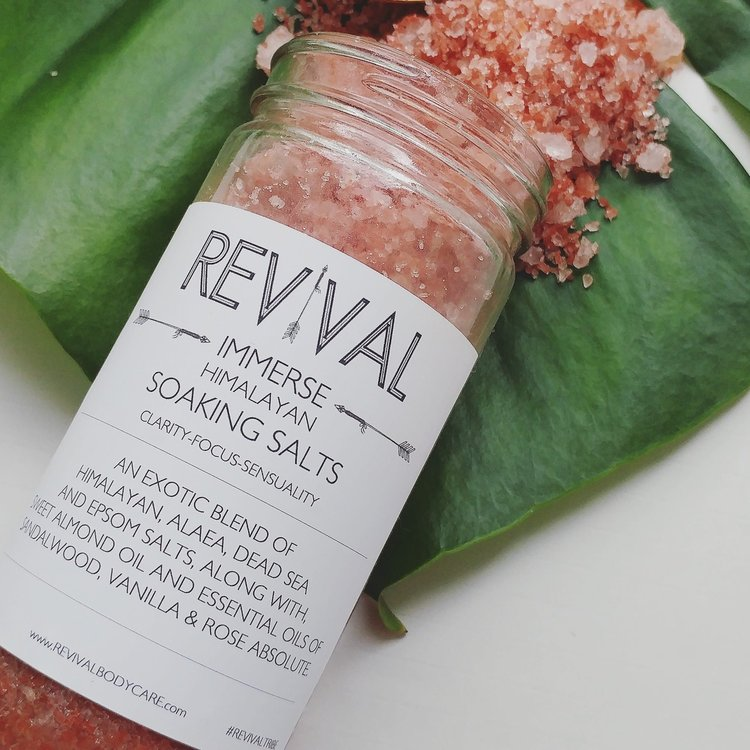 Revival Body Care Himalayan Soaking Salts