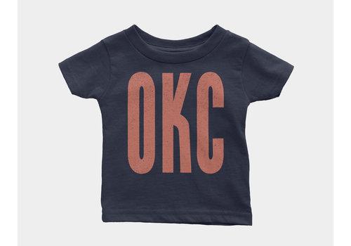 Shop Good OKC Kids Onesie Navy