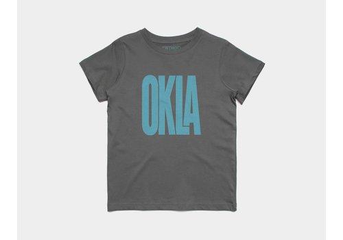 Shop Good Sunny Oklahoma Kids Tee Blue Skies