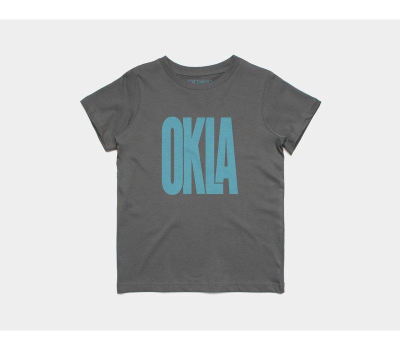 Sunny Oklahoma Kids Tee Blue Skies