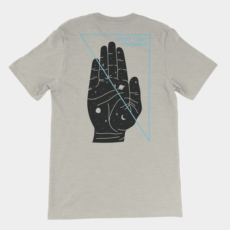 Shop Good Don't Limit Yourself Tee Light Grey