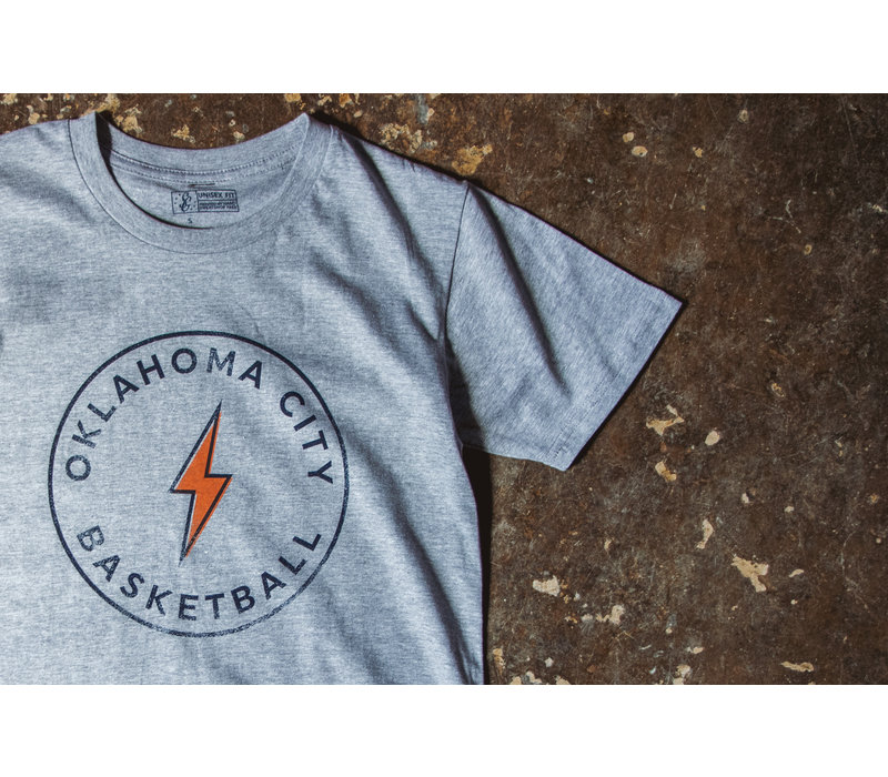 OKC Basketball Tee