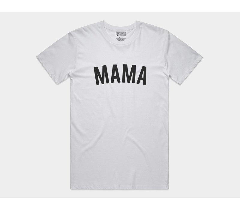 Mama Tee White