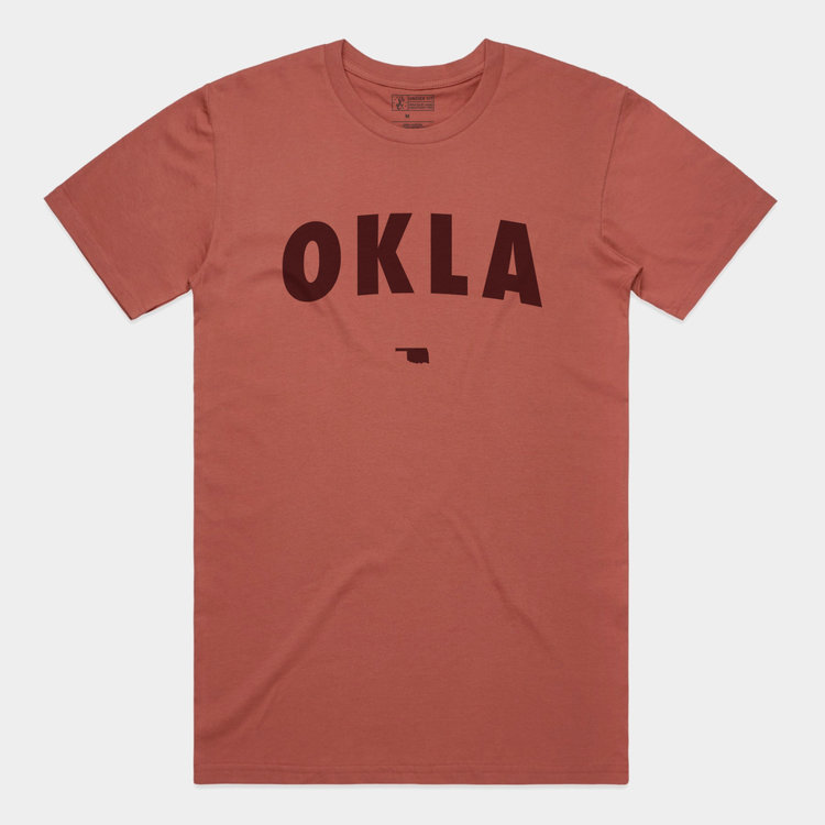 Shop Good OKLA Tee Coral