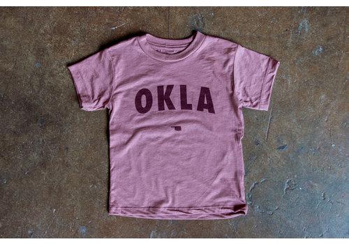 Shop Good OKLA Kids Tee Mauve Triblend