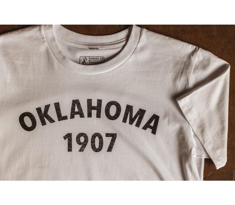 Oklahoma Heritage Tee White