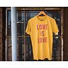 Shop Good Love is Love Tee Mustard