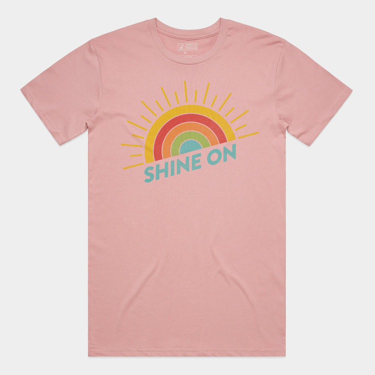 Shop Good Shine On Tee Rose