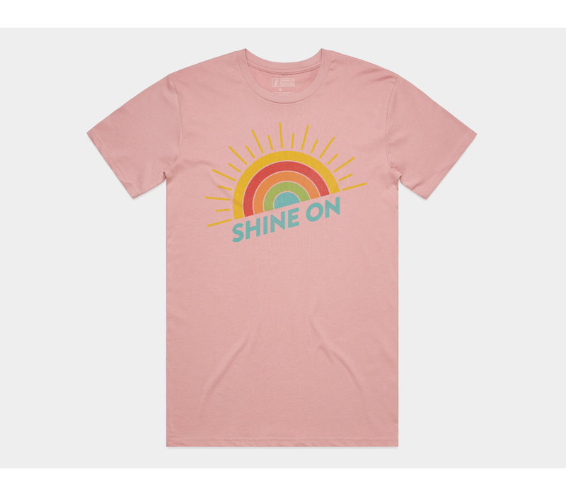 Shine On Tee Rose