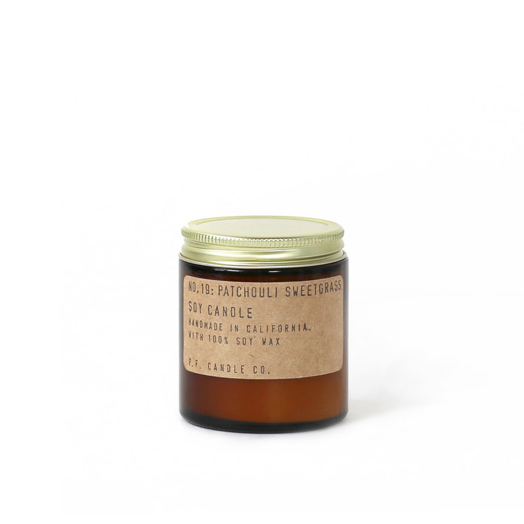 PF Candle Patchouli Sweetgrass Soy Candle