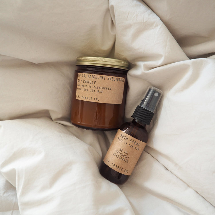 PF Candle Patchouli Sweetgrass Room and Linen Spray