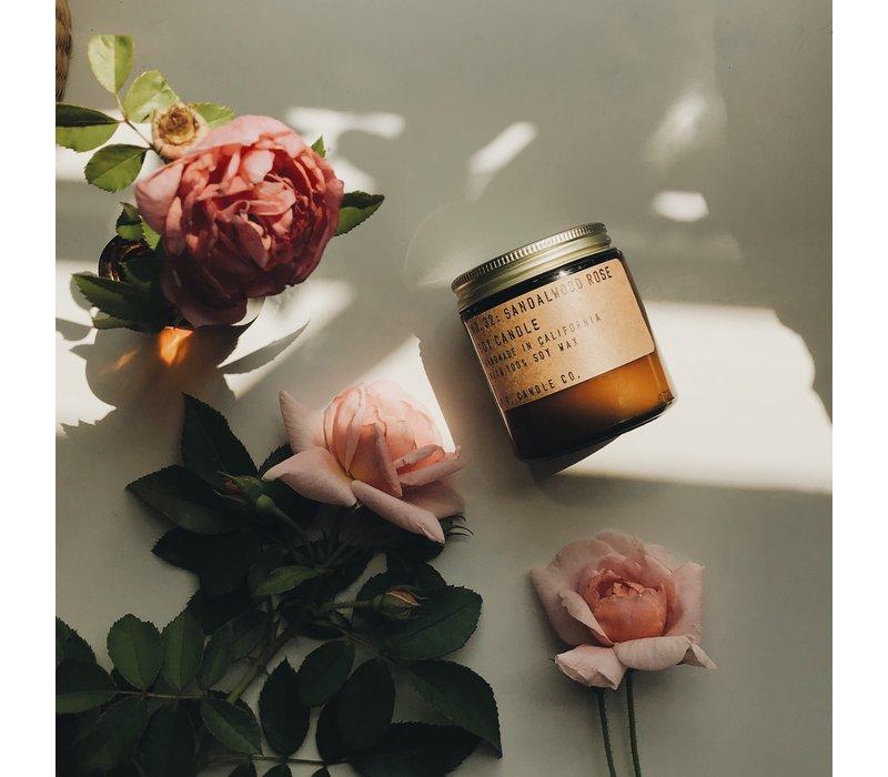 Sandalwood Rose Soy Candle
