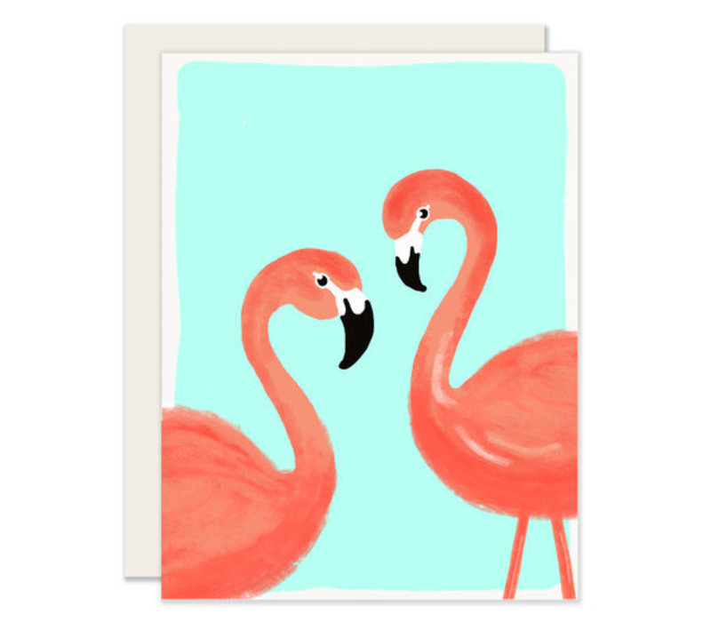 Flamingos Everyday Greeting Card