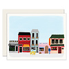 Slightly Town Scene Everyday Greeting Card