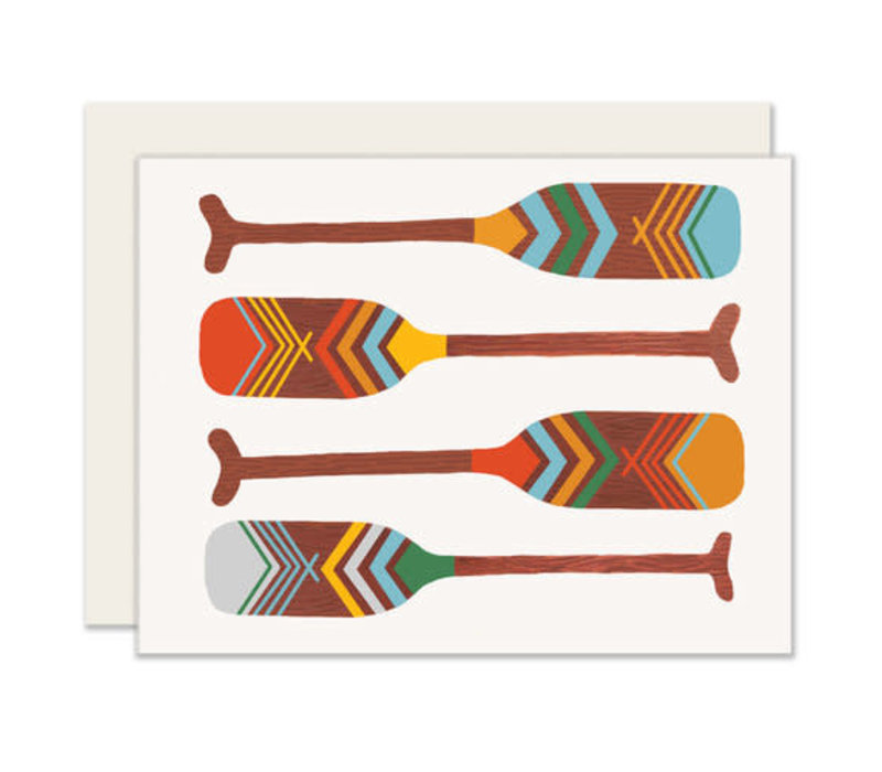 Oars Everyday Greeting Card