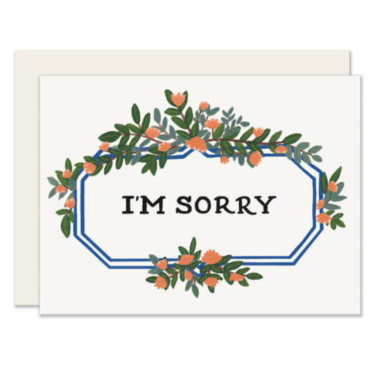 Slightly Leafy Marquee Greeting Card