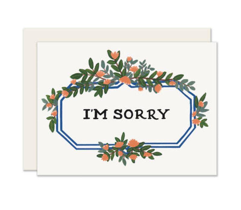 Leafy Marquee Greeting Card