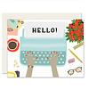 Slightly Typewriter Greeting Card