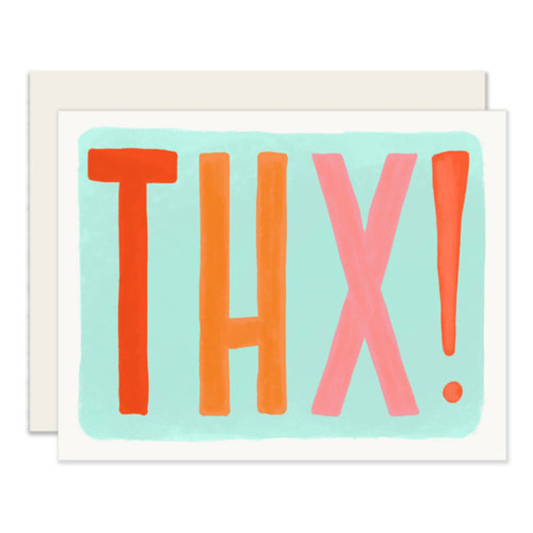 Slightly THX! Thank You Greeting Card