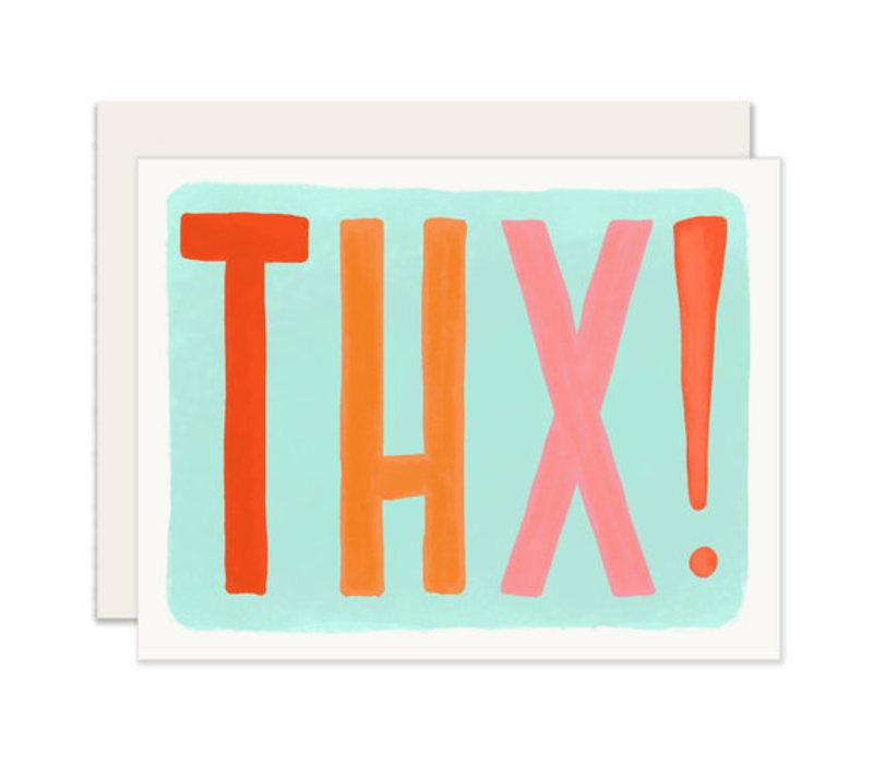 THX! Thank You Greeting Card