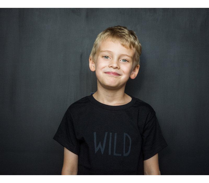 Wild Kids Tee Black