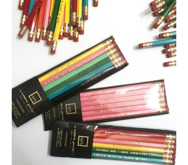 Girls in STEM Pencil Pack
