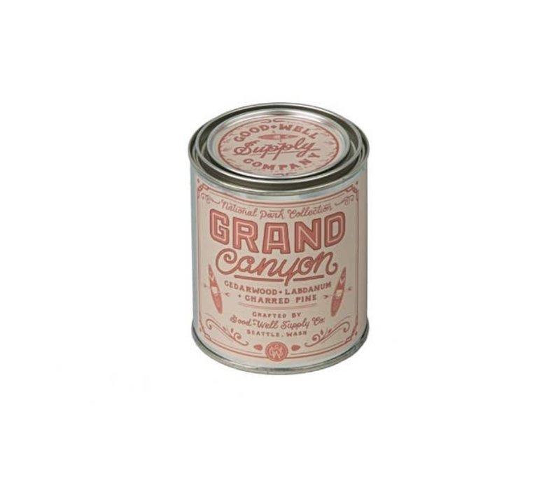 Grand Canyon 1/2 Pint Soy Candle - Charred Pine Cedar + Labdanum