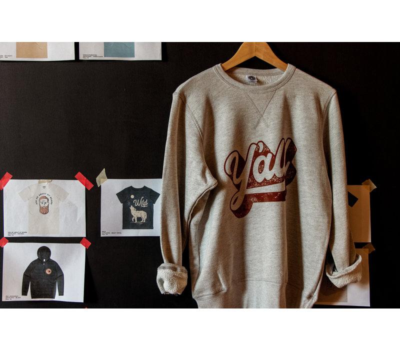 Y'all Pullover Sweatshirt