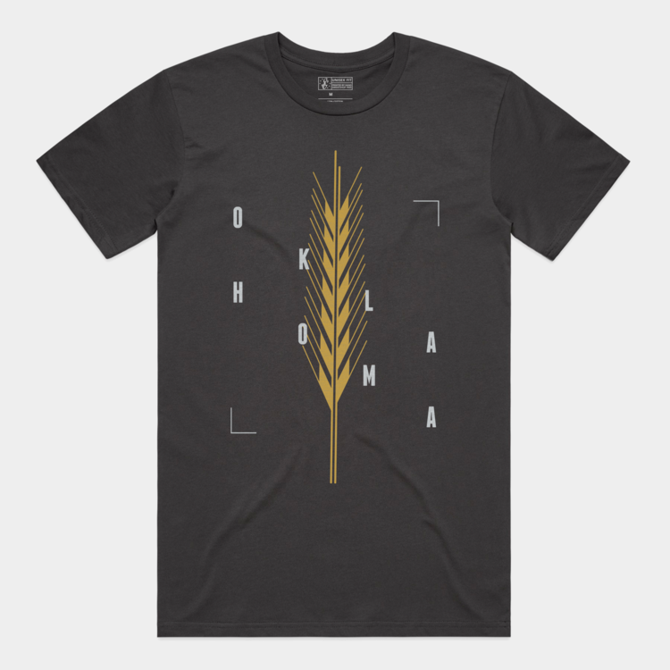 Shop Good Golden Wheat Tee Coal