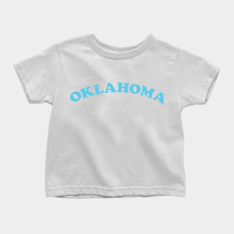 Shop Good Oklahoma Throwback Kids Tee Fruity Pebbles