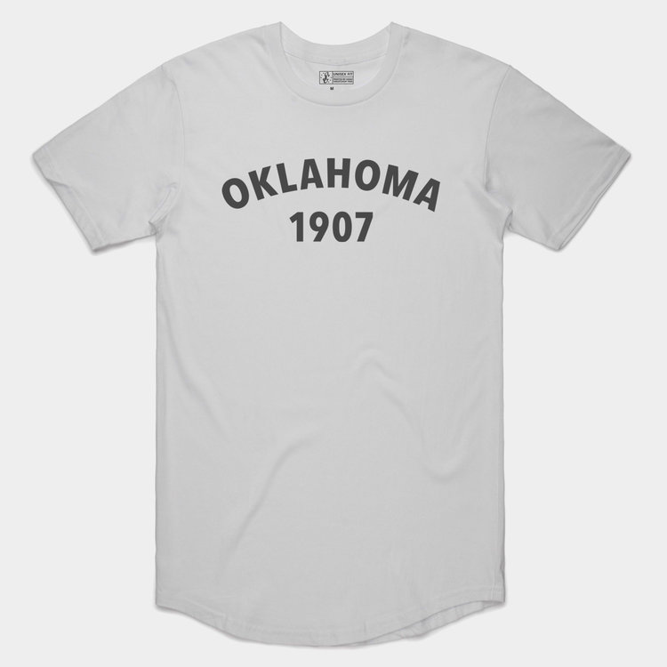 Shop Good Oklahoma Heritage Tee White