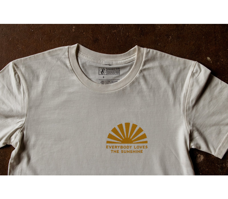 Everybody Loves the Sunshine Tee Natural