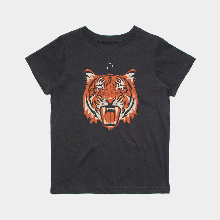 Shop Good Passion for Glory Kids Tee Black