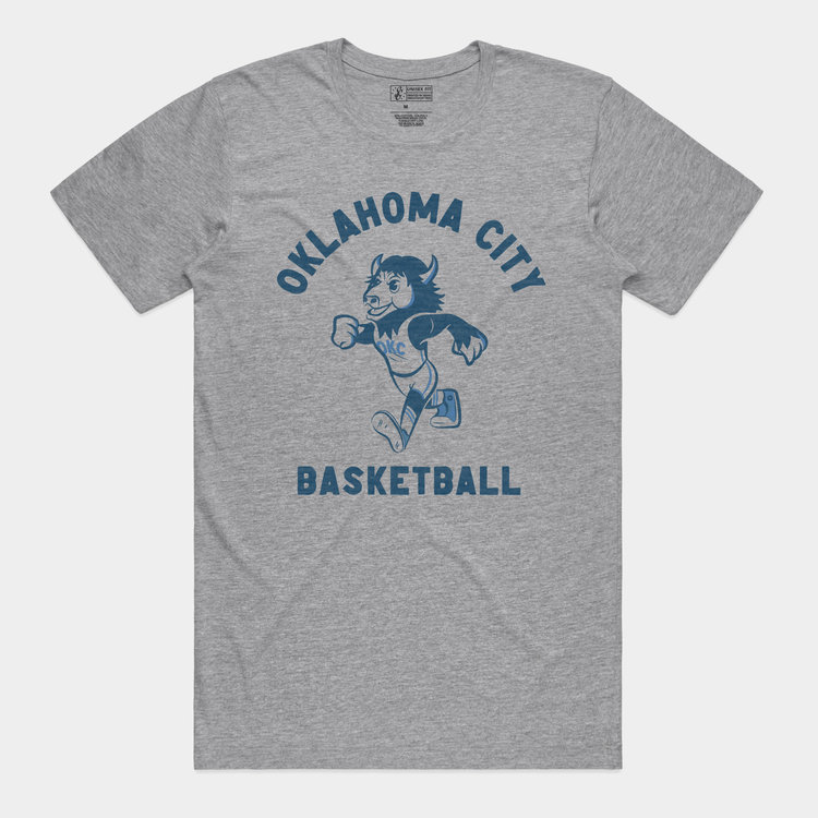 Shop Good Throwback Rumble Tee Athletic Heather