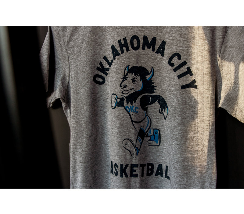 Throwback Rumble Tee Athletic Heather