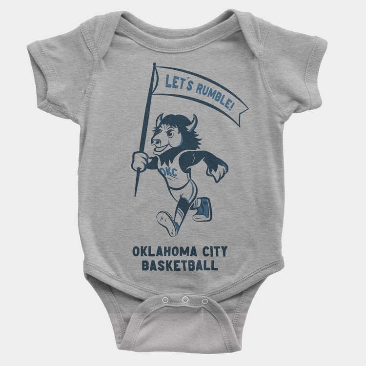 Shop Good Throwback Rumble Kids Onesie