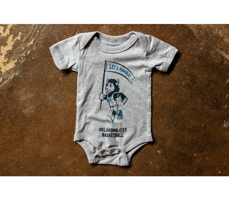 Throwback Rumble Kids Onesie