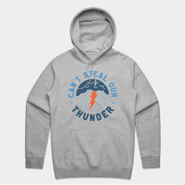 Shop Good Can't Steal Our Thunder Pullover Hoodie