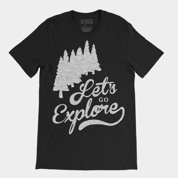 Shop Good Let's Go Explore Tee