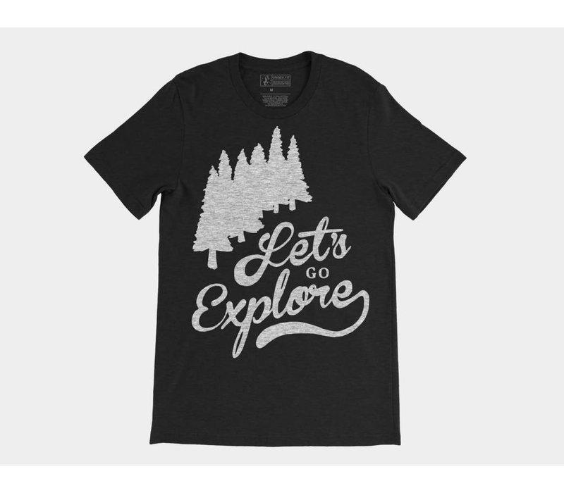Let's Go Explore Tee