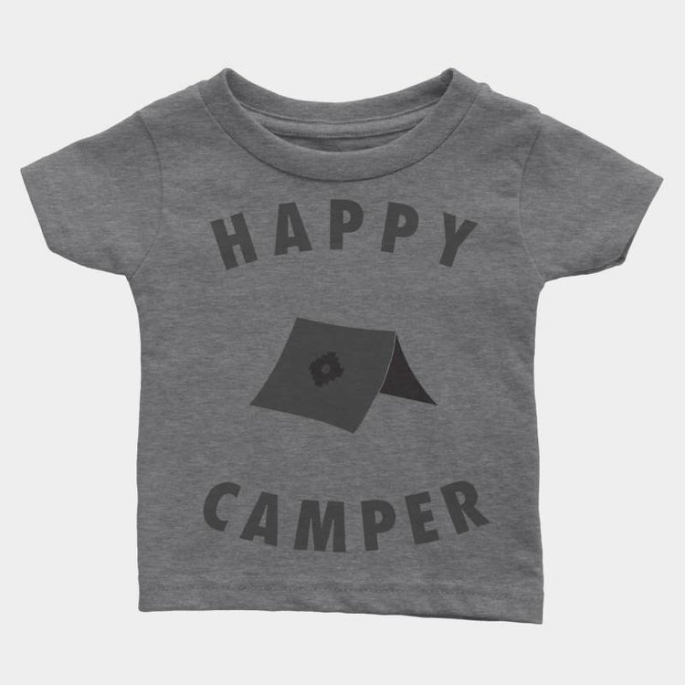Shop Good Happy Camper Kids Tee