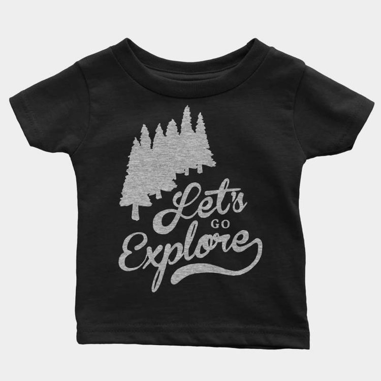 Shop Good Let's Go Explore Kids Tee