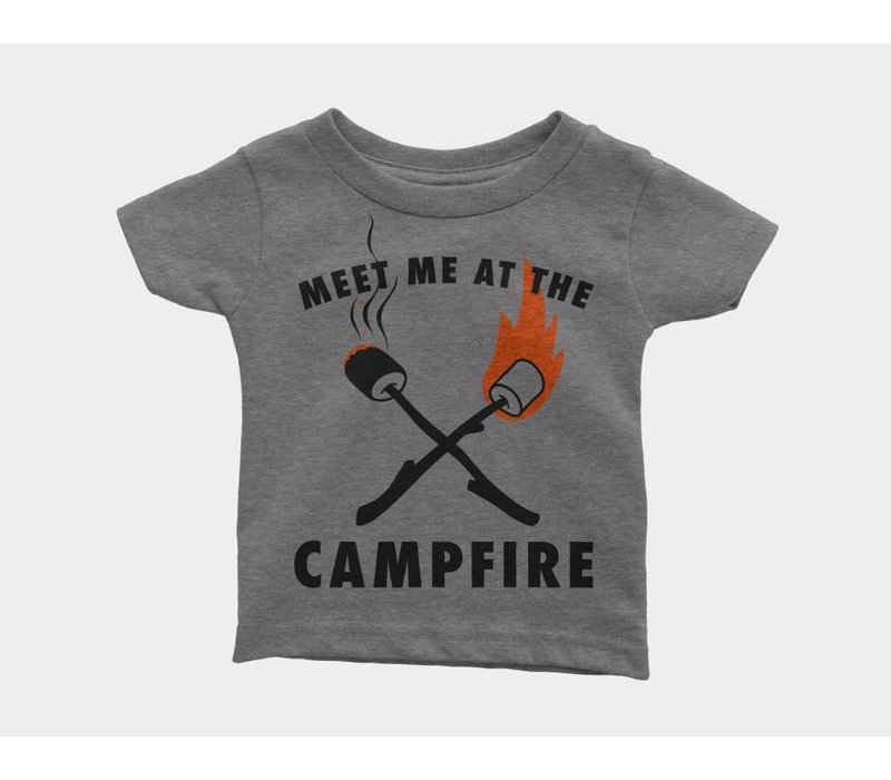 Meet Me at the Campfire Kids Tee