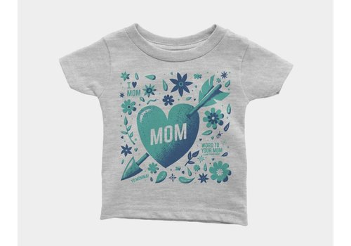 Shop Good Mom Collage Kids Tee